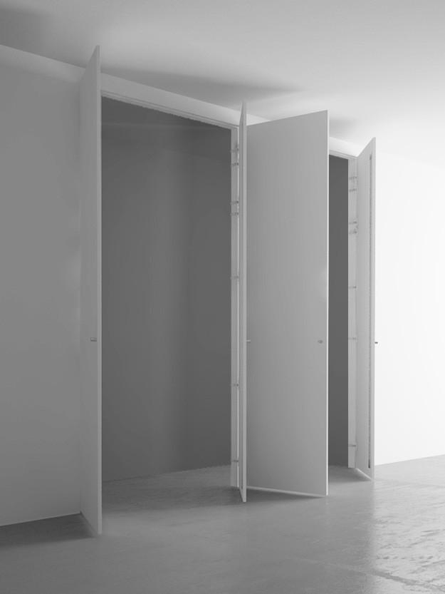Sportelli Armadio A Muro.Armadio A Muro 4 Ante Cm 220 260 Pannellofilomuro It