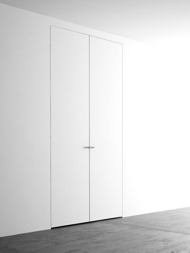 Ante Per Armadio A Muro Roma.Invisible Wardrobes With 2 Doors 110 260 Cm Invisible Door