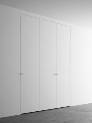 Invisible Wardrobes With 3 Doors. 150×260 Cm