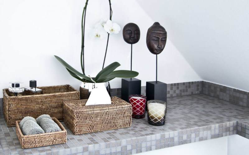 Tidy bathroom: design solution