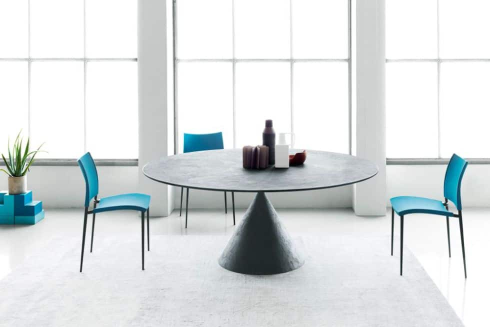 oval table design