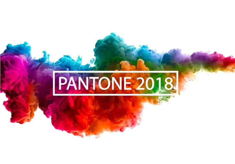 Spring Summer 2018 Colors by Pantone.