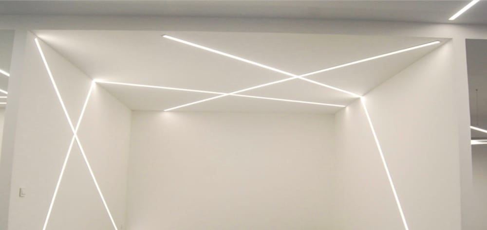 light LED flush-to-the-wall