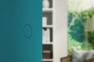 Flush balanced door