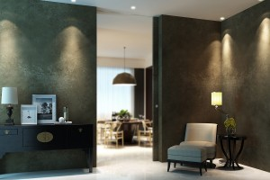 Frameless pocket door